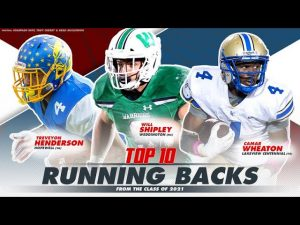Top 10 Running Backs in Class of 2021